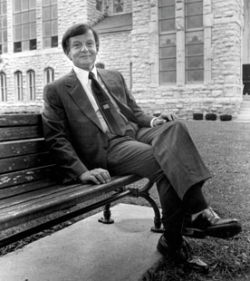 Garner on July 19, 1994, shortly before starting his first year as president. (Photo by Chris Stewart)