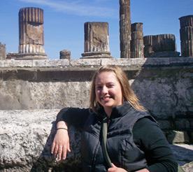 Emiy Vinci in Pompeii