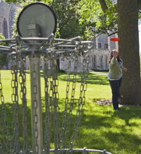 Disc Golf at Cornell College