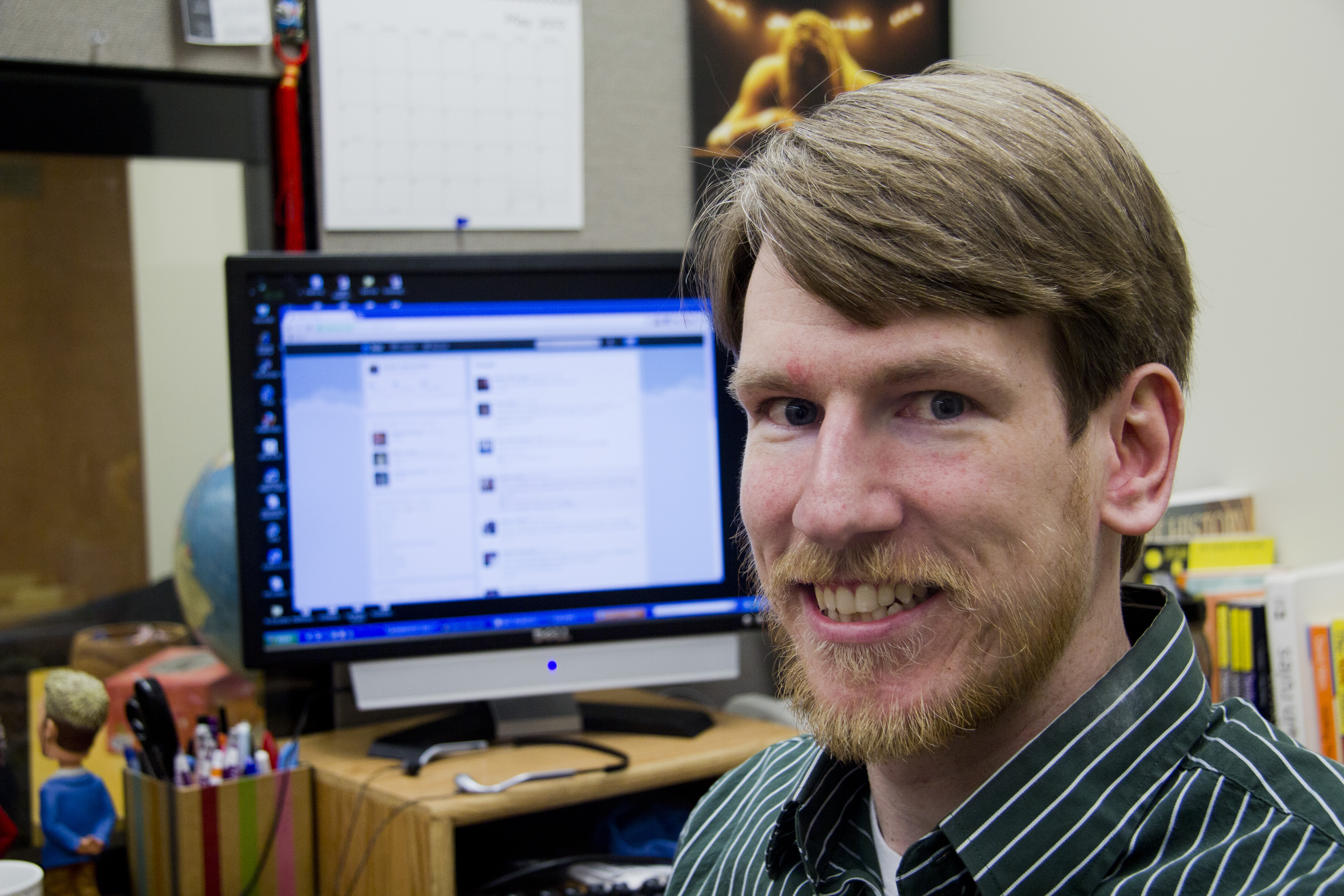 Shawn Doyle, a writing consultant at Cornell College, was named one of the 50 best writing teachers on Twitter.