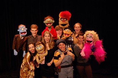 "Cornell College's production of the Broadway hit ""Avenue Q"" starts Feb. 22."