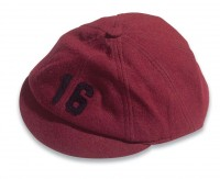 Freshman Beanie: For 55 years Cornell freshmen had to display a symbol of their newness to the college—the beanie. Introduced in 1916, the beanies were worn the entire year, unless the freshmen males beat the sophomores in tug of war, or later, climbing a greased pole to capture a flag.
