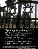 Rachel Cylus will talk about the role of historic religious sites on Feb. 28.