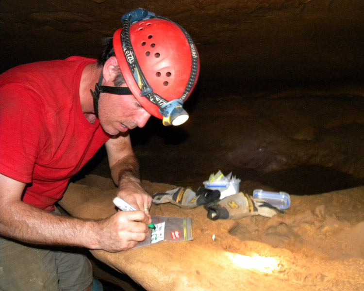 Rhawn Denniston, who won a grant to student stalagmites for evidence of climate changes over thousands of years.