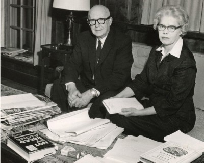 Toppy Tull and Winifred Van Etten