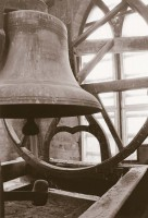 Meneely Bell: From their installation in 1882 until the 1950s, four bells made by the Meneely Company in New York—2,000, 500, 275, and 110 pounds—tolled the hours from their perch atop the tower of King Chapel. A fifth Meneely bell hung in the cupola of College Hall until 1977, when a crack was discovered. That bell was replaced with the 500-pound bell from King Chapel, and it was destroyed in September 2012 when lightning struck the College Hall cupola. The hourly tones heard on campus now are made by the carillon in King Chapel, which was installed in 1950.