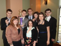 Cornell College's Mock Trial team