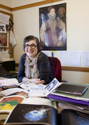 Kirilika Stavreva, an English and creative writing professor at Cornell College.