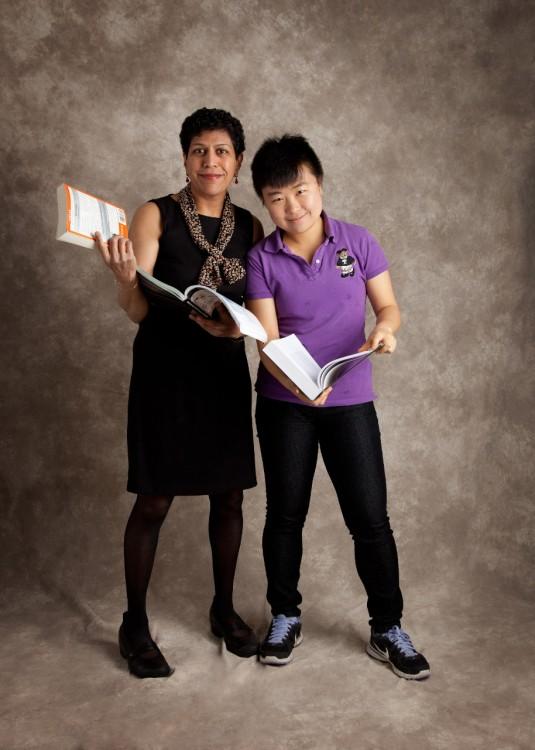 Santhi Hejeebu and Herbie Huang (Credit: Envisage Studios)