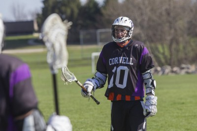 Cornell will add lacrosse as a varsity sport for the 2014-15 season. An active lacrosse club has existed on campus for several years. (Credit: FJ Gaylor Photography)