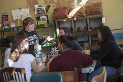 Cornell College students congregate and socialize at Fuel, Mount Vernon's locally-owned coffee shop. Fodor's named Mount Vernon, Iowa, one of the five Midwestern towns to visit now.