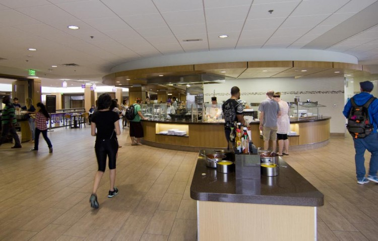 The renovation of the Thomas Commons has been an important first step in Cornell's strategic plan. This fall an entirely renovated dining area, re-named the Hilltop Café, opened.