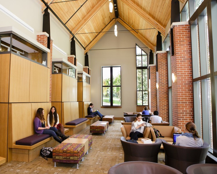 Thomas Commons grand foyer