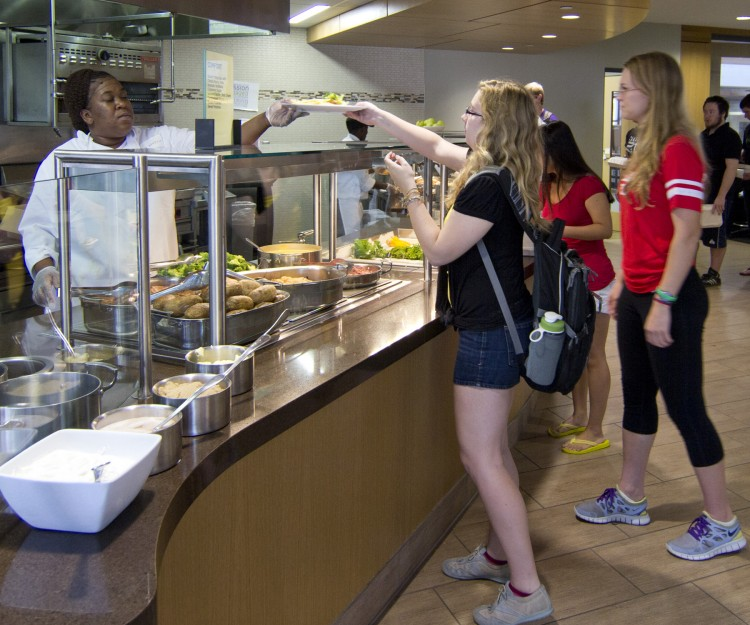 Bon Appétit, Cornell College's food service provider, is working with the college to ensure locally-sourced, nutritious food.