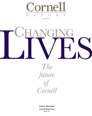 Cornell Report Cover Fall 2013