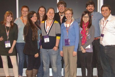 Geology Course Attends National Conference