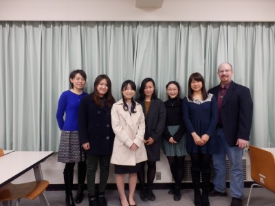 Five  students and two faculty members from Aoyama Gakuin Women's Junior College in Tokyo will be on campus from Feb. 24 to March 4.