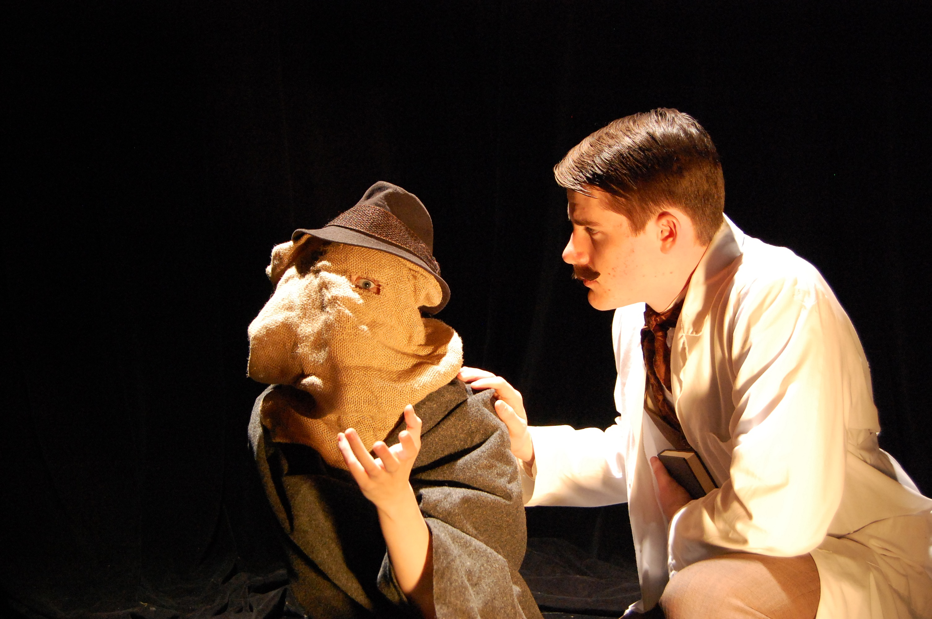 "Cornell College's production of ""The Elephant Man"" opens Feb. 21. Photo by Hailey Severance."
