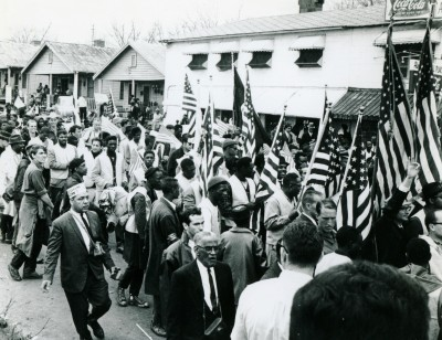 25,000 people marched to the Alabama capitol during the third Selma to Montgomery march in March 1965, including 14 Cornellians. Roger Davis '65