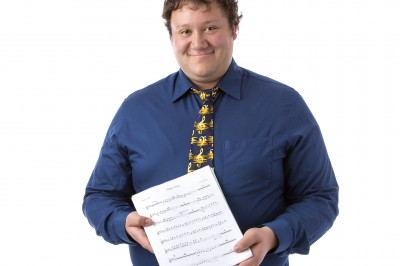 The love of the history of music he discovered at Cornell College led Corey Lohman to pursue his Ph.D. in musicology.