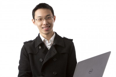 """Ji """"Max"""" Zhang, an economics and business major, secured a position at AEGON, doing risk management."""