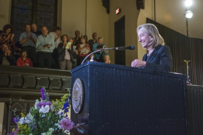 Doris Kearns Goodwin, the 2014 Delt Lecture speaker. Photo by Jacob Luplow '16