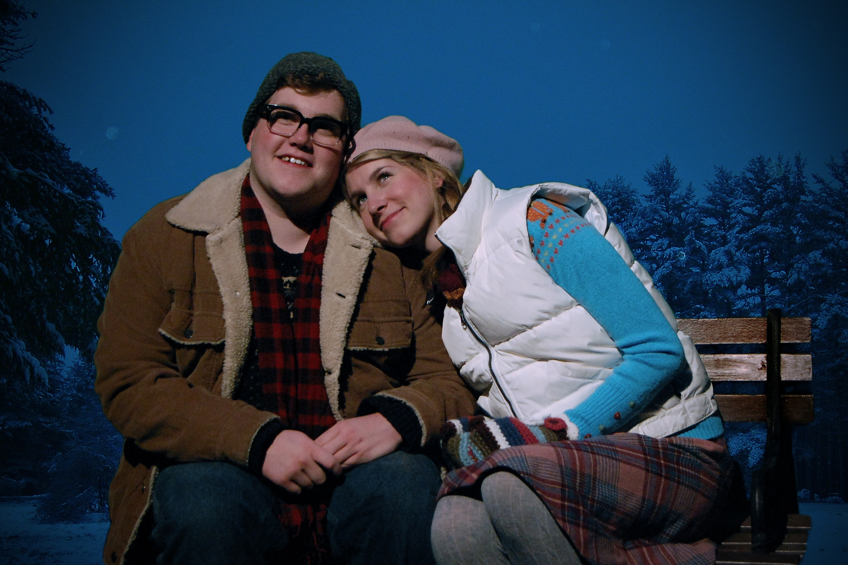 "Cornell College's production of ""Almost, Maine"" opens Nov. 7. Photo by Hailey Severance."