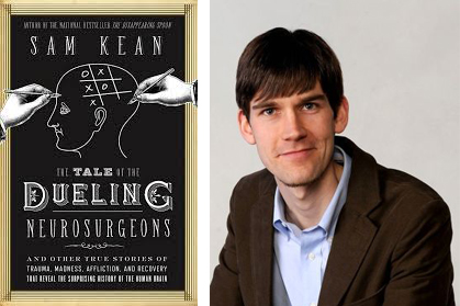 Sam Kean and book cover