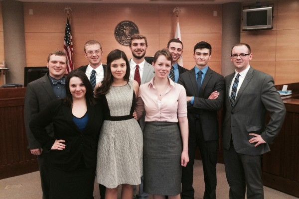 Cornell College mock trial squad 1103 earned a bid to the National Championship tournament.
