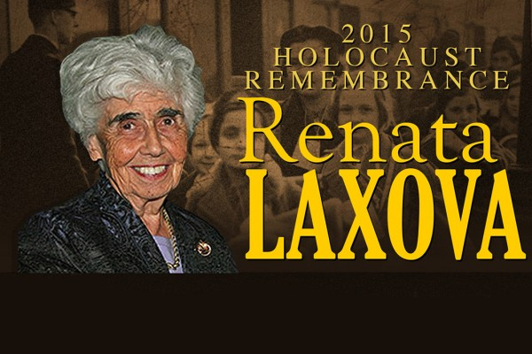 Renata Laxova will give the 2015 Holocaust Survivor Lecture on April 13.