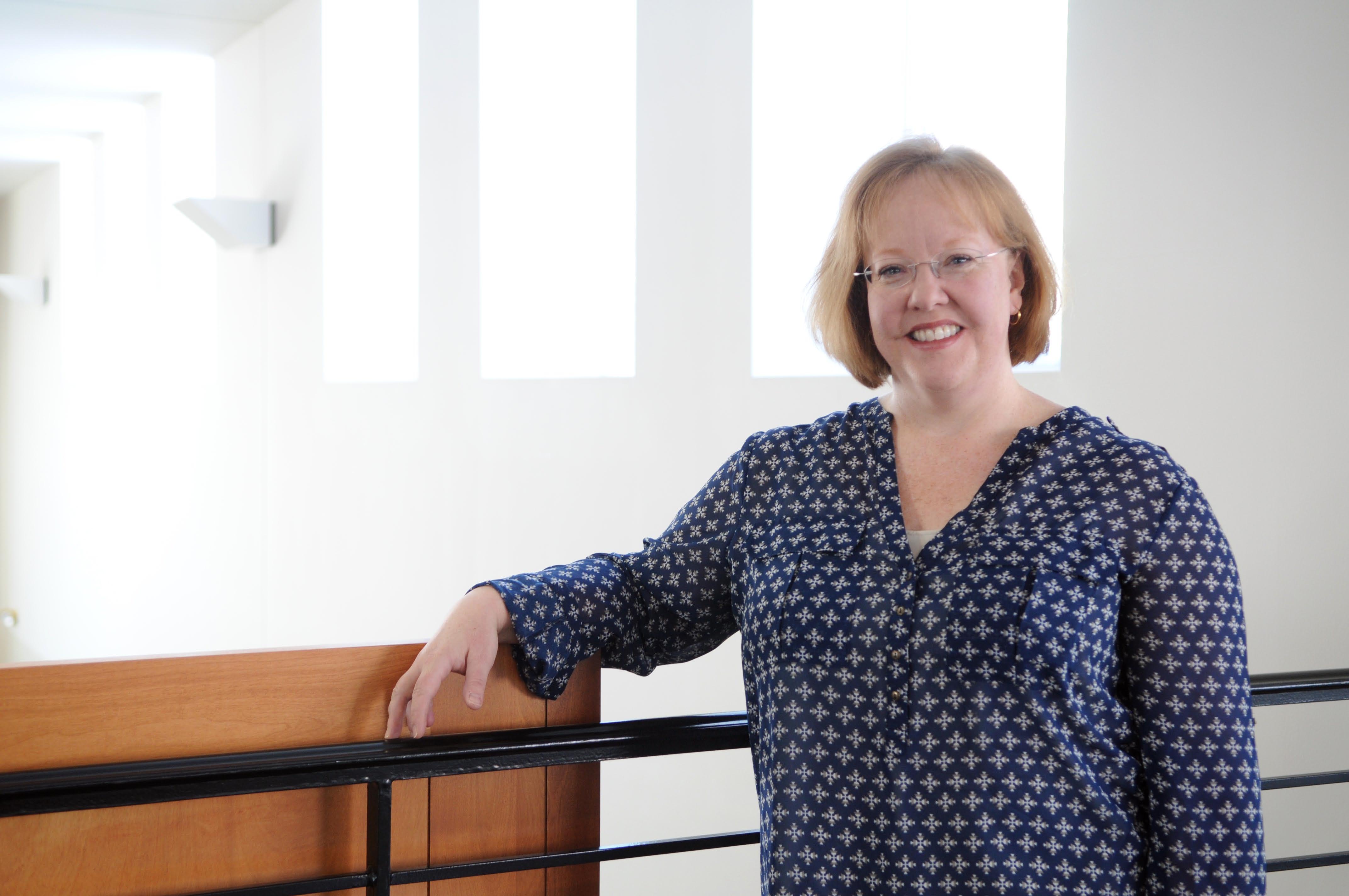 Catherine Steward, professor of history