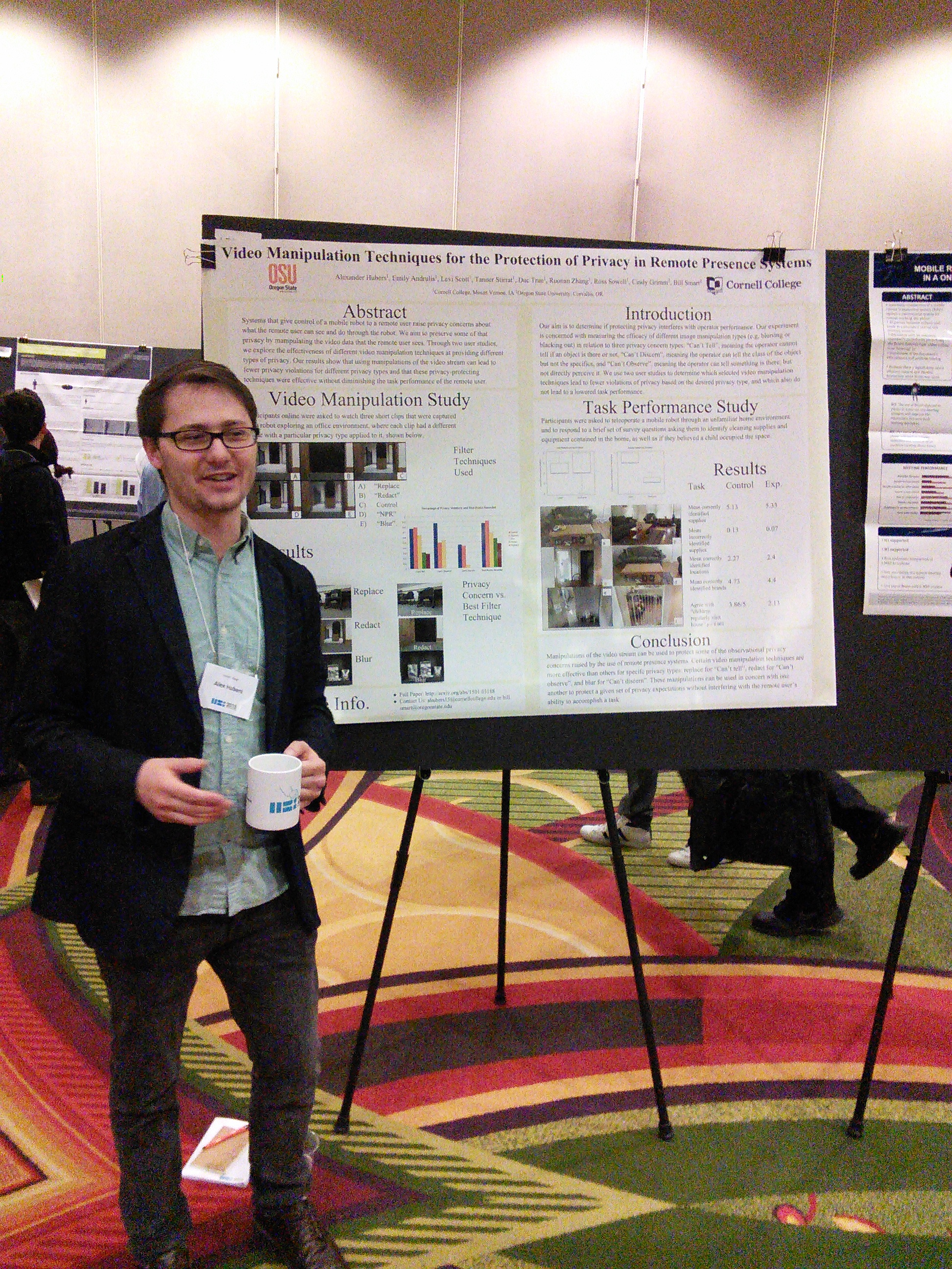Student presents research on Human-Robot interaction - Cornell College
