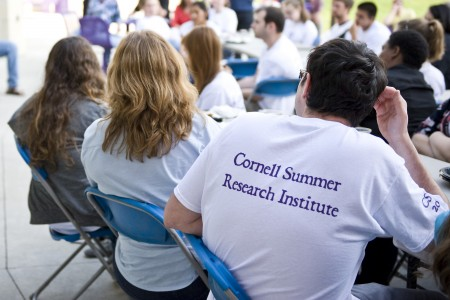 Dozens of students spent 10 weeks performing research on campus this summer.