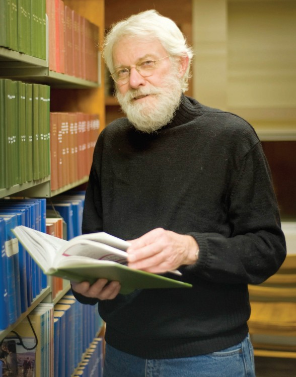 Richard Peterson (Photo by Mehrdad Zarifkar '09)