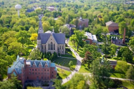 Campus Aerials 2010 Spring