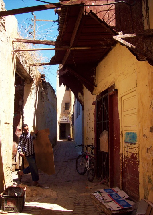 Students observed everyday life by venturing the labyrinth streets and alleys of Fez during the course Islam and Postcoloniality in Contemporary Morocco