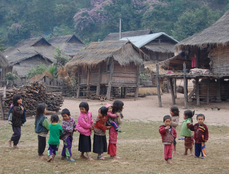 Students in Religions of Laos lived briefly with local families and observed religious and cultural practices.