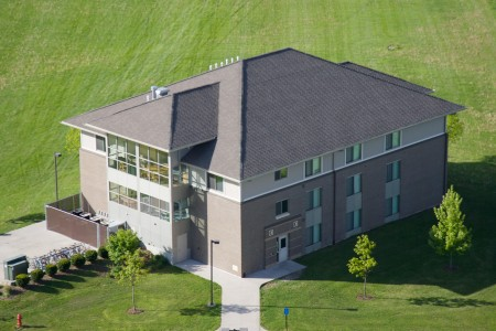 Smith Hall from above