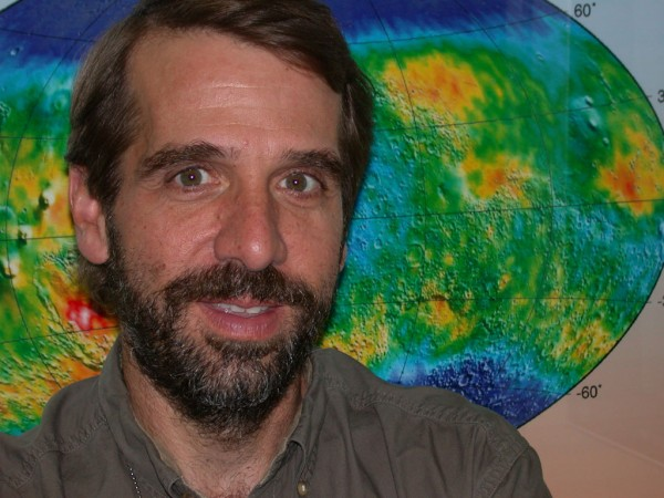 Jeffrey Plaut of NASA's Jet Propulsion Laboratory will talk about water on Mars on Nov. 6.