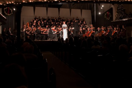 The Cornell College Orchestra, Chamber Singers and Concert Choir will perform a holiday concert on Dec. 5.