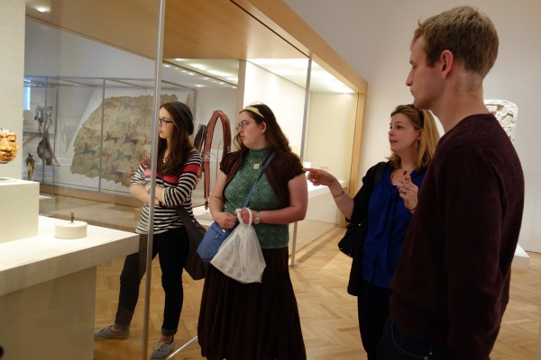 Students in the Block 3 art history course on museum studies visited cultural sites throughout Chicago to learn about the role of museums in society.