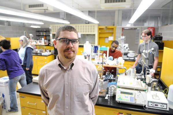 Cornell College chemistry professor Craig Teague.