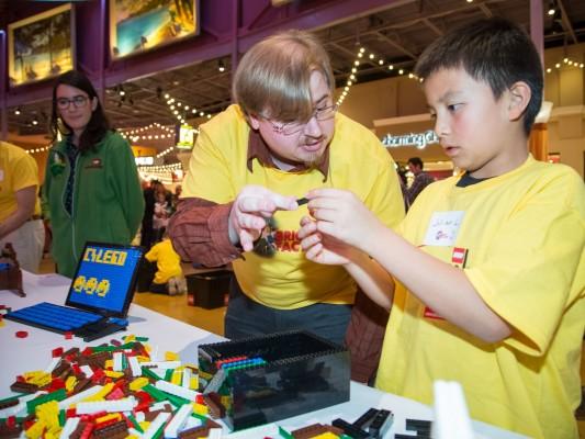 Legoland master builder Clint Parry '09