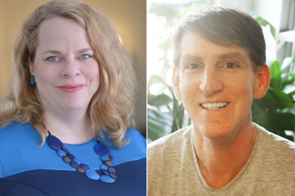 The Cornell College Center for the Literary Arts announces two Distinguished Visiting Writers for 2016-2017: screenwriter Brian Sloan and live lit performer Kate Harding.