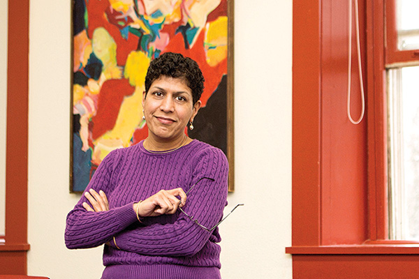 There are many reasons to like One Course At A Time. For Santhi Hejeebu, associate professor of economics and business, being able stretch her students out of their comfort zones is one of them.