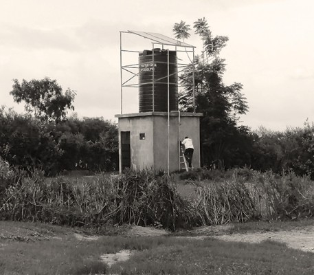 Water tower in Tanzania