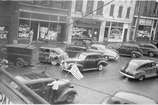 Downtown Mount Vernon 1947