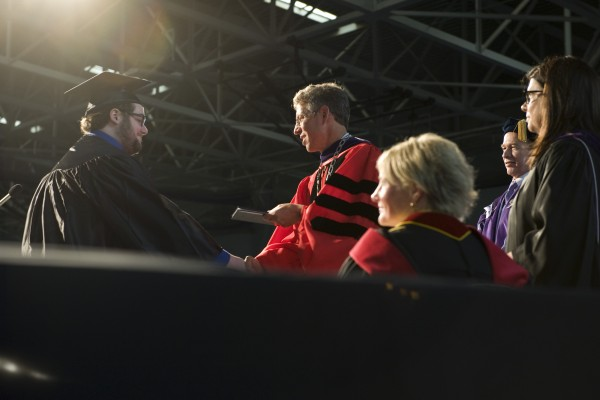 271 graduates received their diplomas during the 2015 Commencement ceremony.
