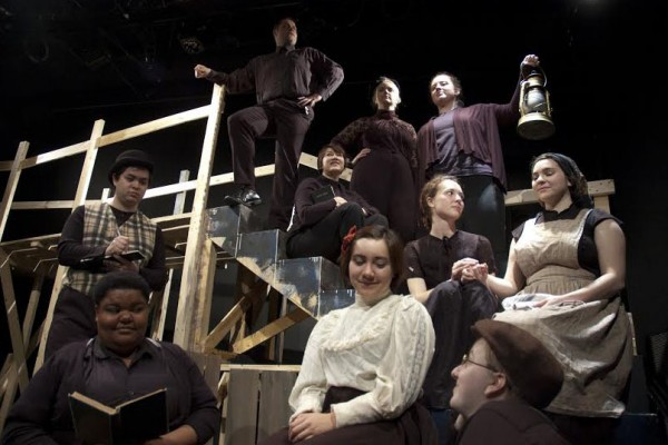 """The Cornell College Department of Theatre is proud to present """"Those that Fall""""—a story of love and loss in a town gripped by fear. Inspired by Iowa lore and supported by a year-long process of research and development, """"Those that Fall"""" was written by an ensemble of Cornell College students, with Associate Professor of Theatre […]"""