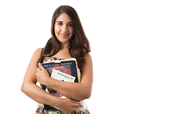 Kristal Viera '16 is going to New York City's Fashion Institute of Technology. She will take part in the Art Market Program, which is a program for art business.